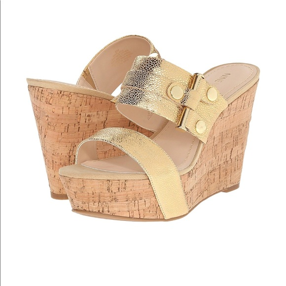Nine West Lara Platform Wedge Sandals